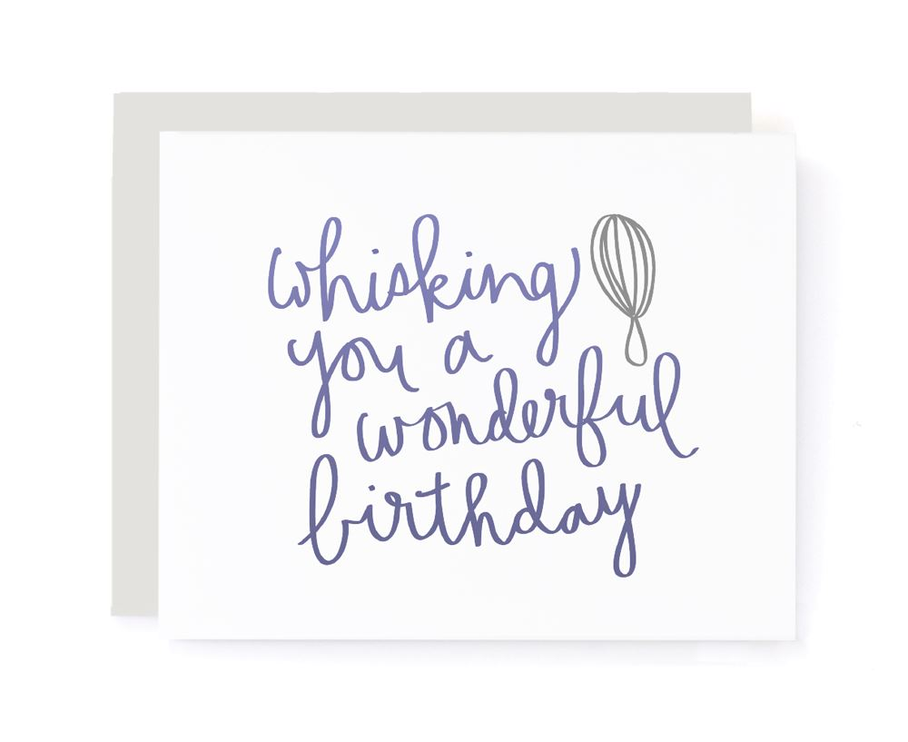 Whisking You A Wonderful Birthday Card