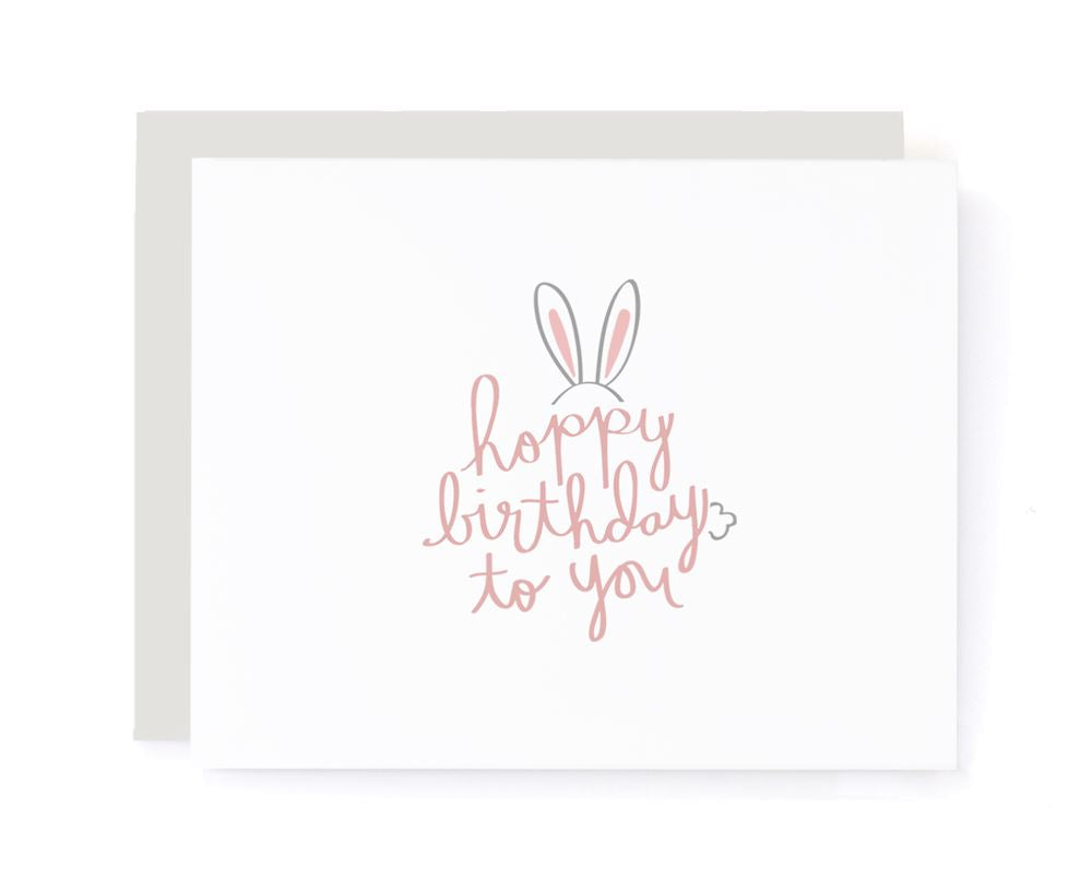 Hoppy Birthday To You Card
