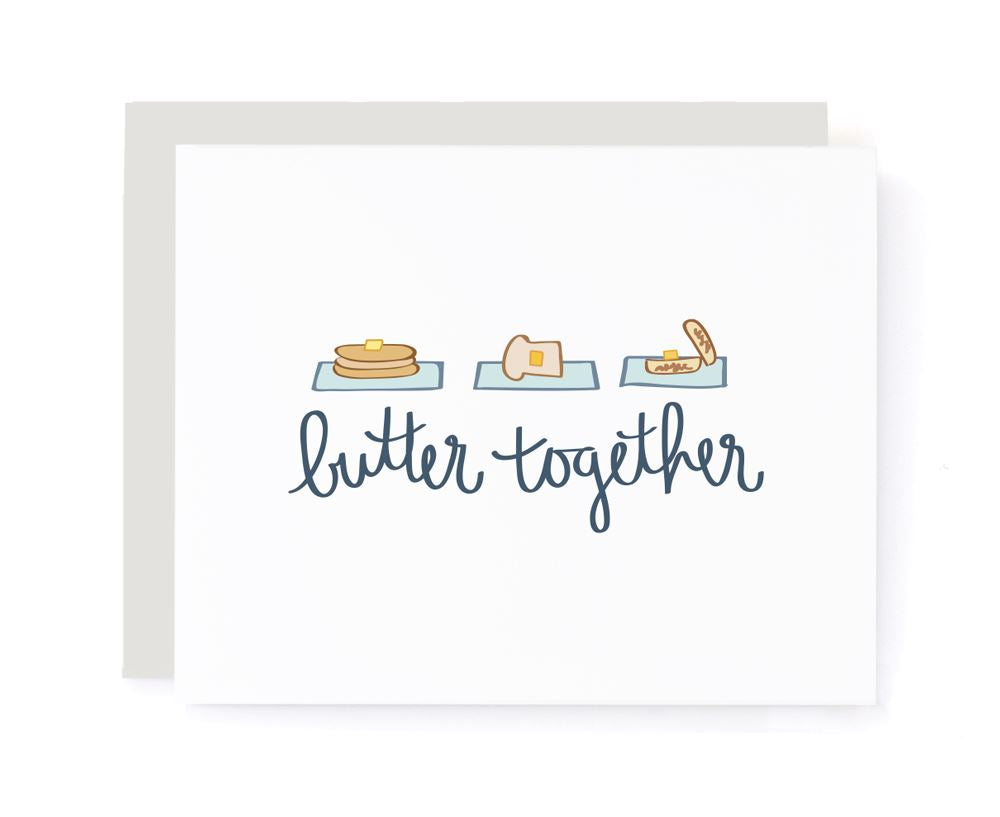 Butter Together Valentines Card card A Jar of Pickles