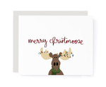 Merry Christmoose Christmas Card