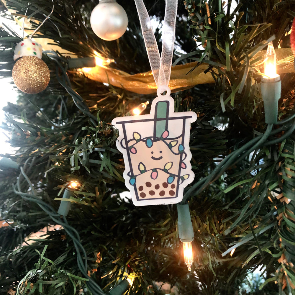 Boba Holiday Ornament