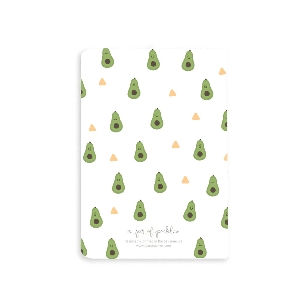 Avocado Pocket Notebook