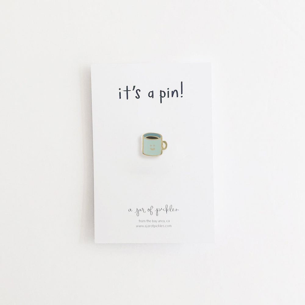 Coffee Cup Pin