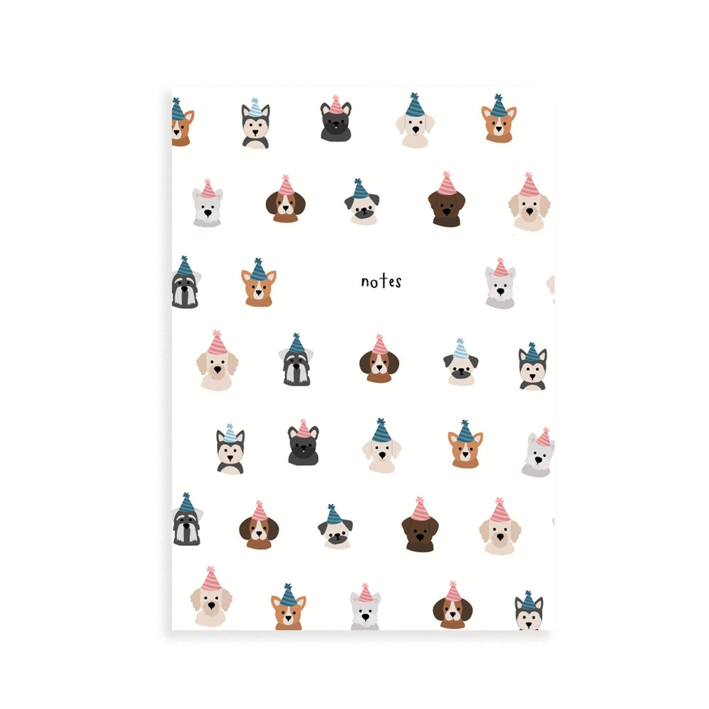 Dog Party Pocket Notebook