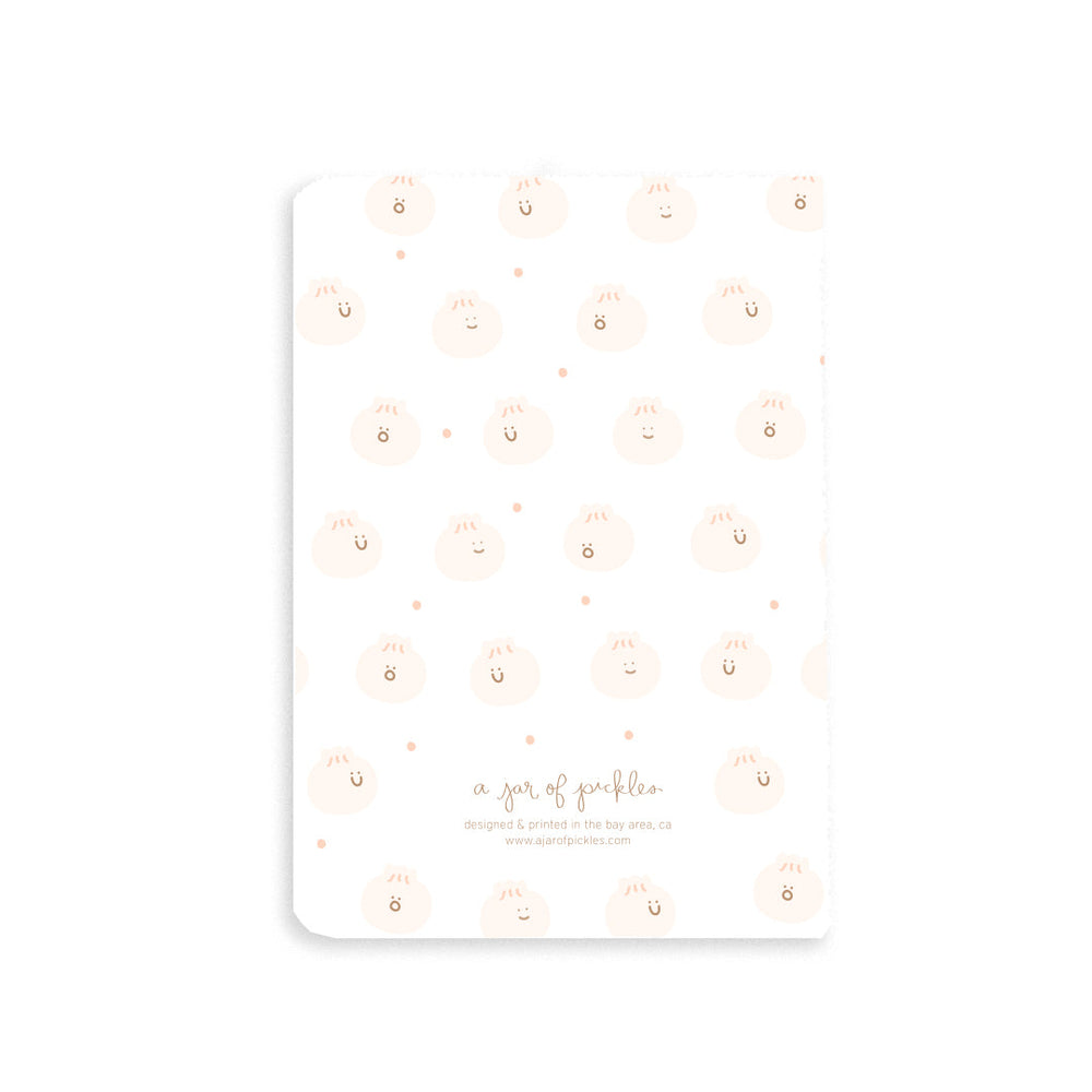 Bao Dumpling Pocket Notebook