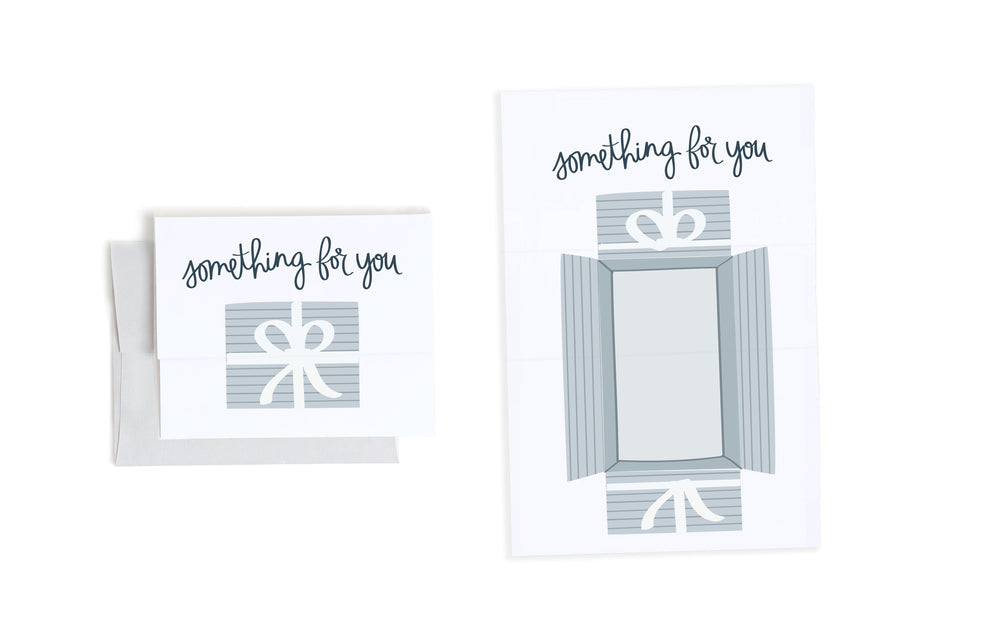 Something For You Gift Expandable Card
