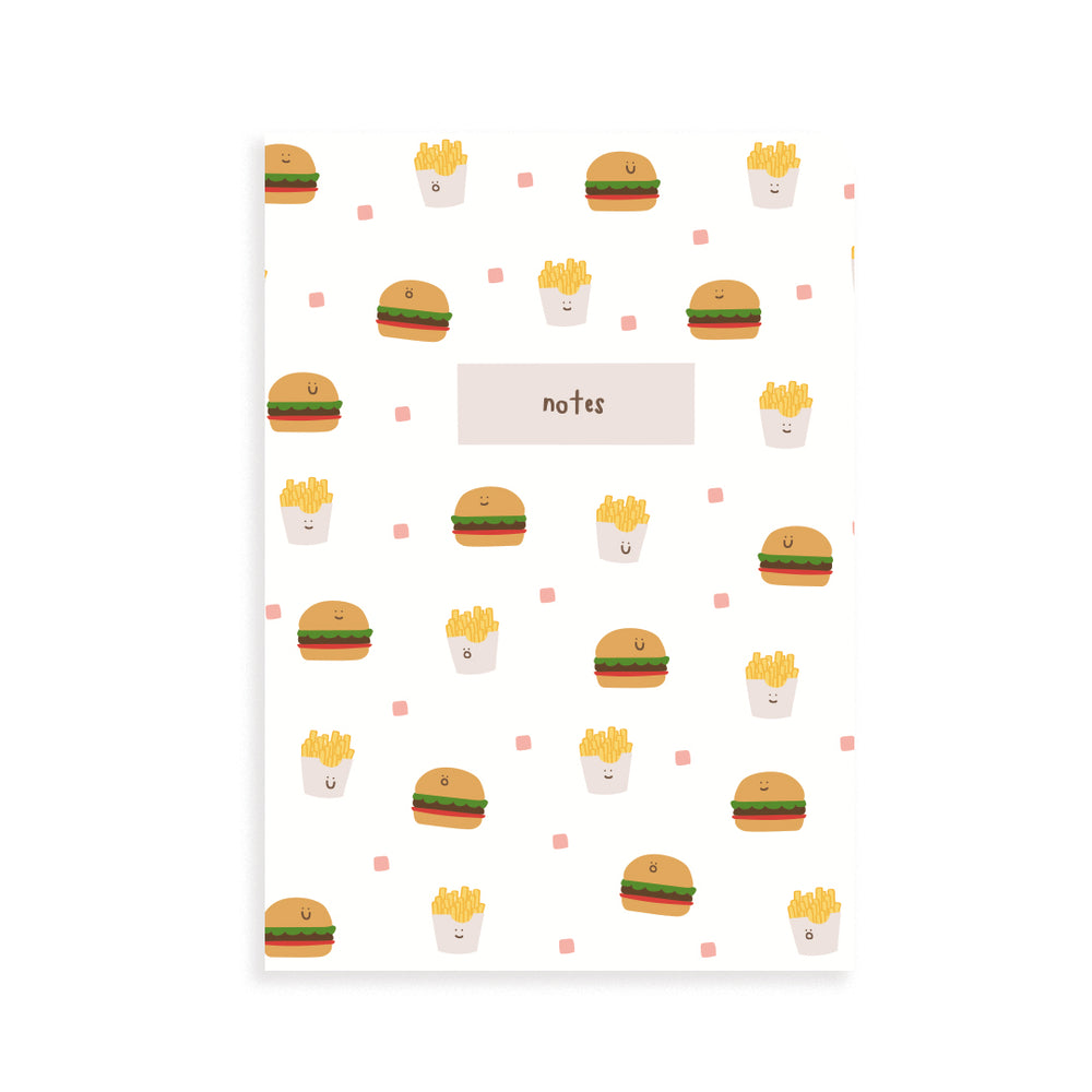 Burger Pocket Notebook