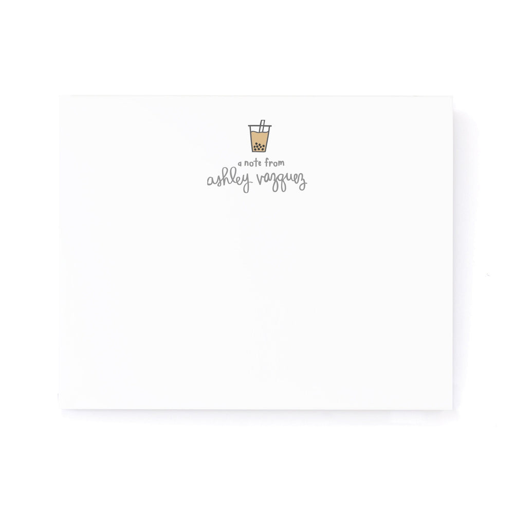 Personalized Stationery: Icon Cursive