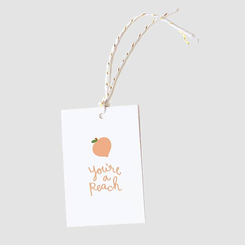 You're A Peach Gift Tags