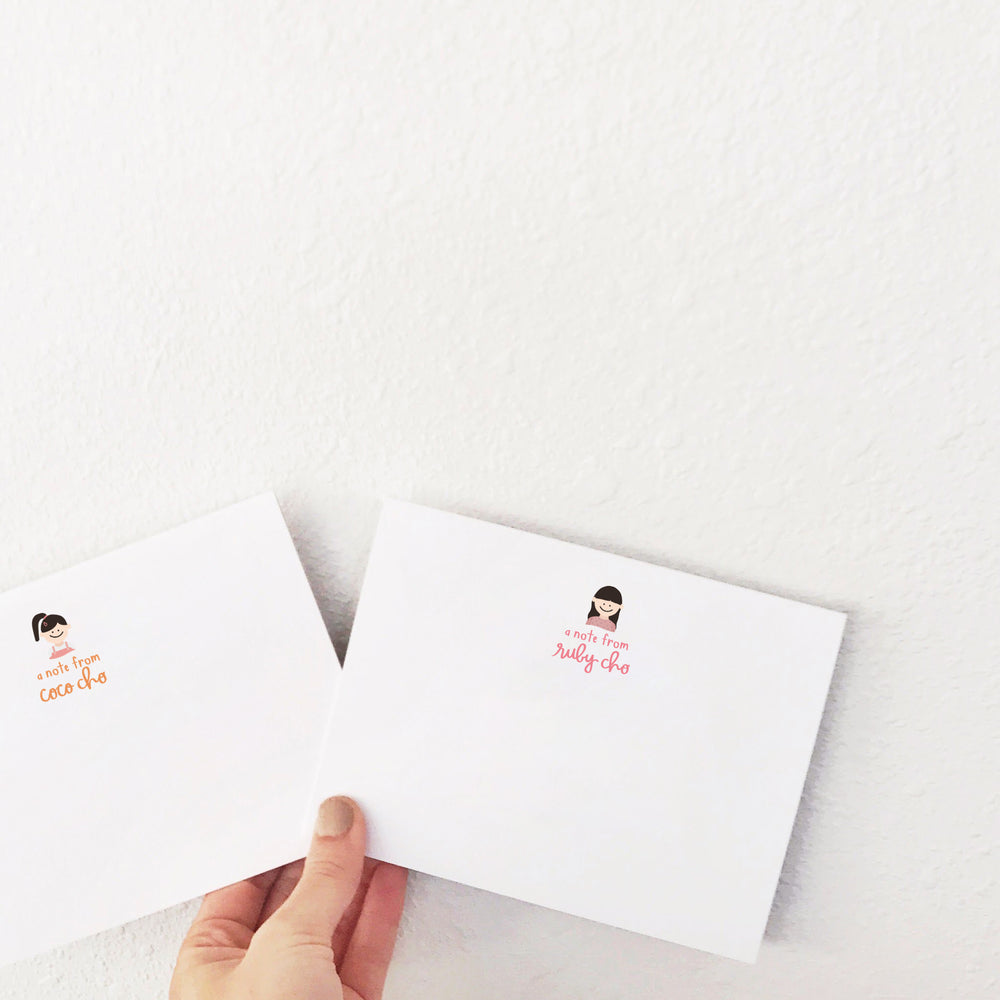 Custom Stationery: Portrait