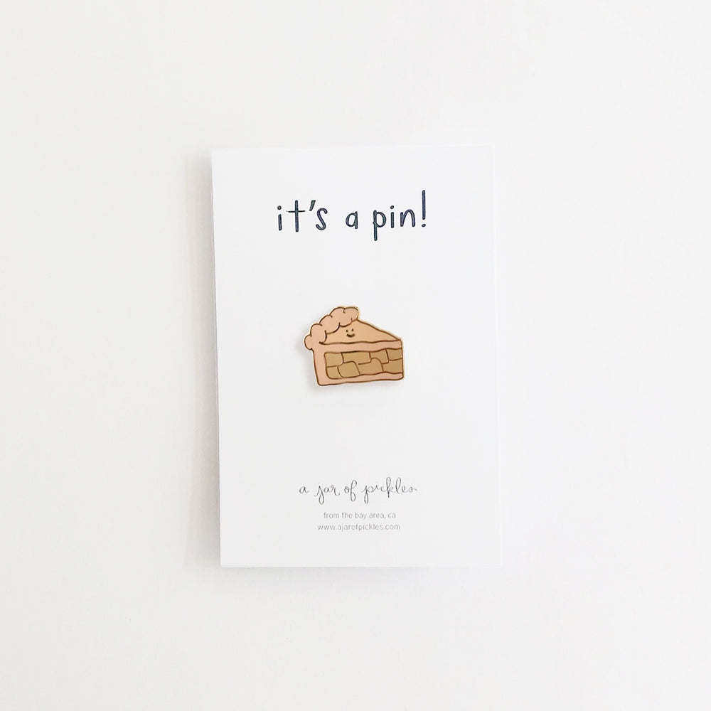 Pie Slice Pin