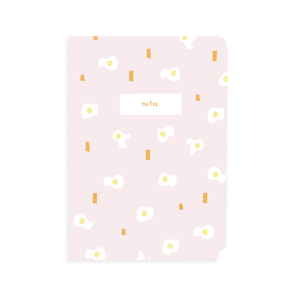Ltd Ed- Pink Egg Pocket Grid Notebook