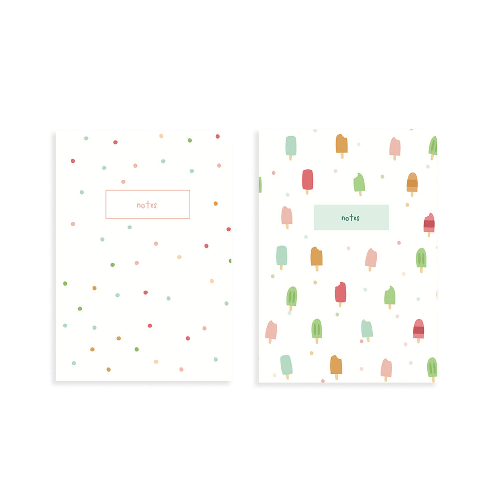 Summer Fun Pocket Notebook Set of 2