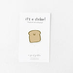 Bread Vinyl Sticker