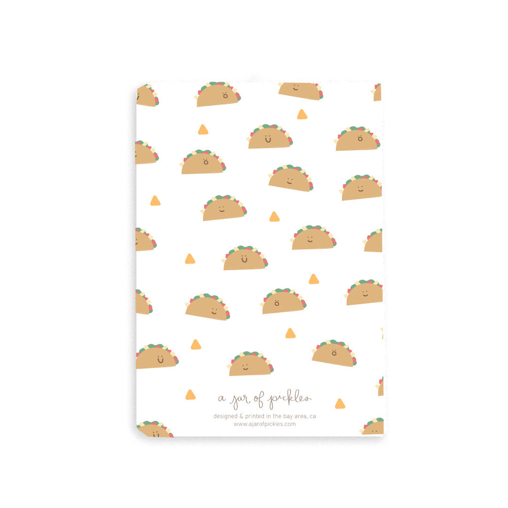Taco Pocket Notebook