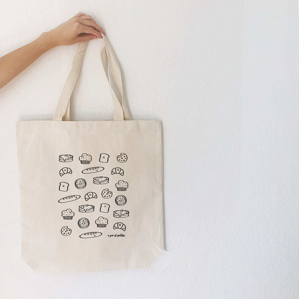 Carbs Cotton Tote