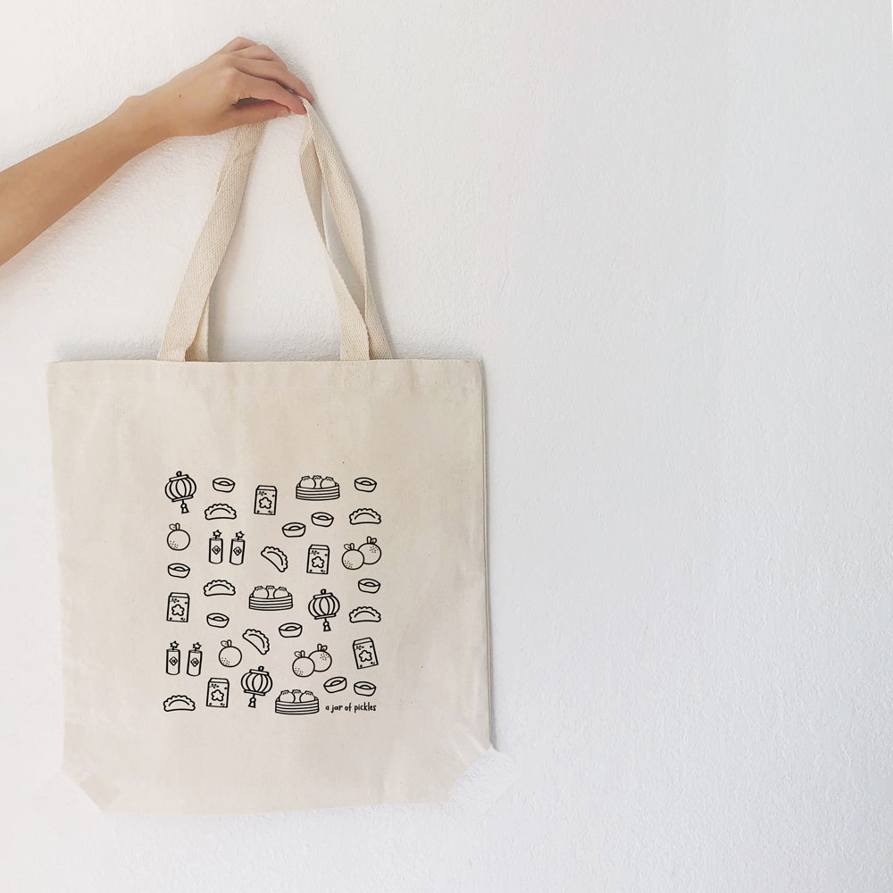 Lunar New Year Cotton Tote