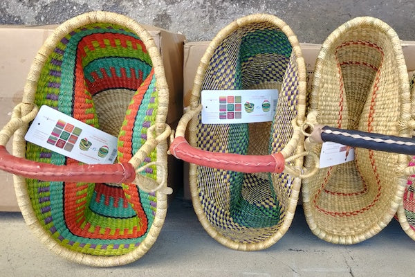 How to perfectly reshape your Bolga basket