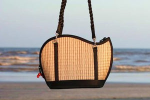 Saraye, Original Tatami Style Purses, made by artisans from Baskets of Cambodia