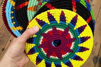 Fabric Frisbees for Backyard AND Indoor Fun!