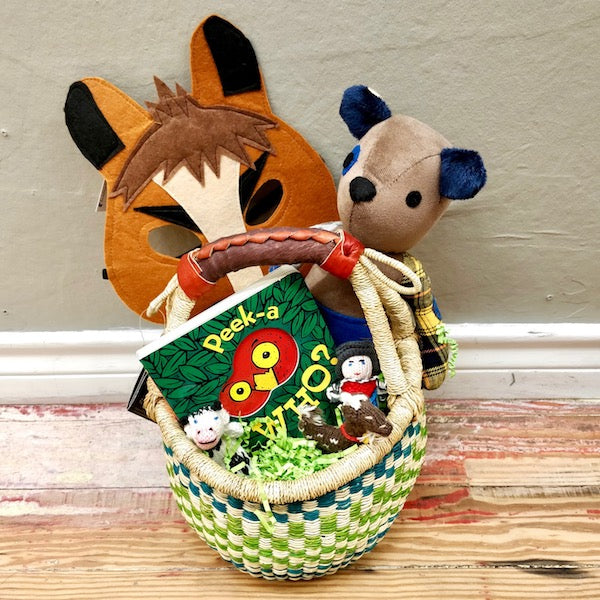 Easter Basket local delivery mckinney dallas fair trade little boy