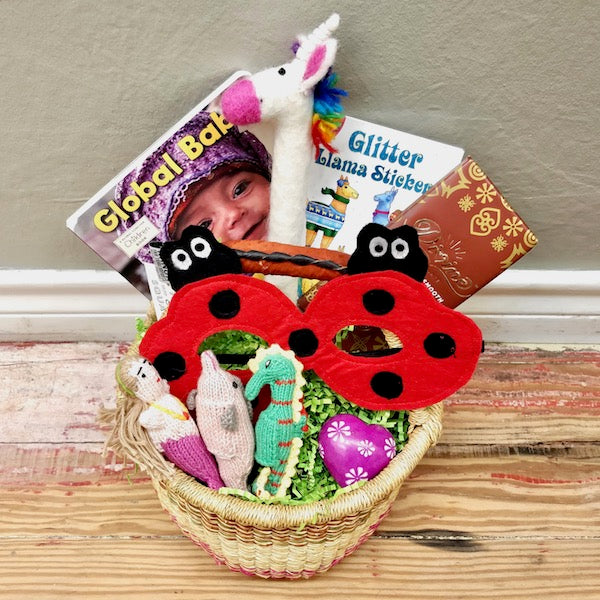 Easter Basket local delivery mckinney dallas fair trade little girl