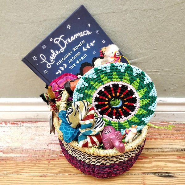 Easter Basket local delivery mckinney dallas fair trade young girl