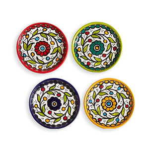 Hand Painted Appetizer Plate - West Bank
