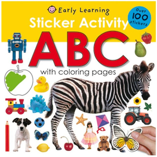 ABC Sticker Activity Book