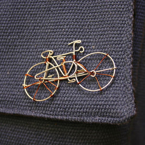 Wire Bike Pin - Kenya