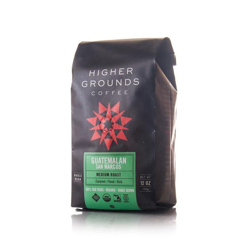 Organic Guatemalan Medium Roast Whole Beans - Guatemala