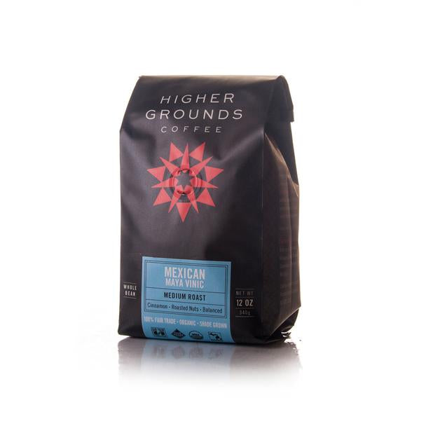 Organic Mexican Medium Roast Whole Beans - Mexico