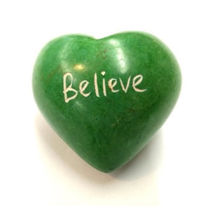 Believe Word Heart