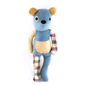 Buy-One-Give-One Teddy Bear - Blue - West Bank