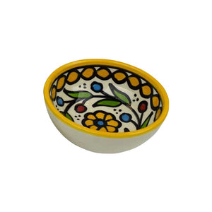 Hand Painted Bowl - West Bank