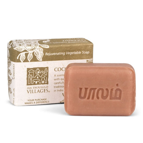 Coconut Veggie Oil Soap - India