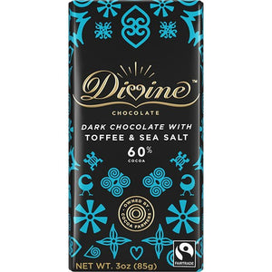 Dark Toffee & Sea Salt Chocolate - Ghana