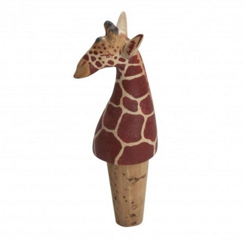 Giraffe Bottle Cork - Kenya