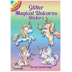 Glitter Unicorn Sticker Book