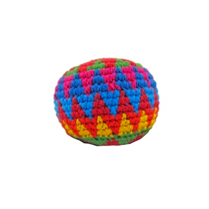 Crocheted Hacky Sack Ball - Guatemala