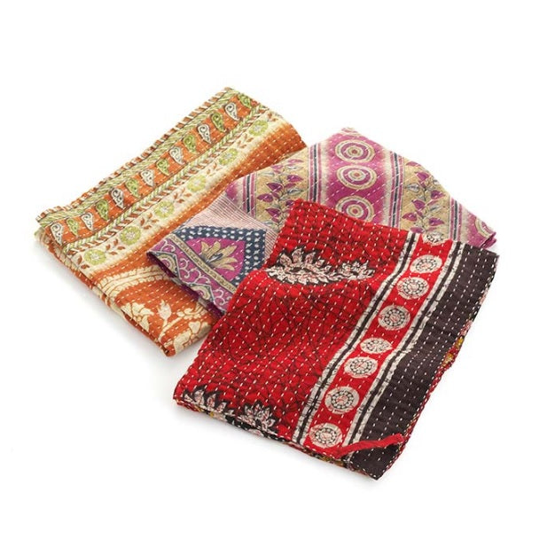 Kantha Dish Towel - India