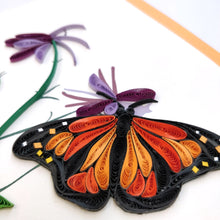 Quilled Monarch Butterfly Card - Vietnam