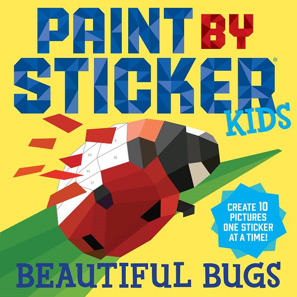 Paint By Stickers Book - Bugs
