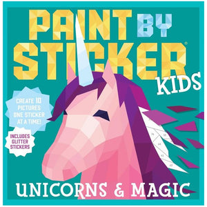 Unicorns Paint By Sticker Book
