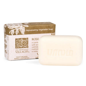 Rose Veggie Oil Soap - India