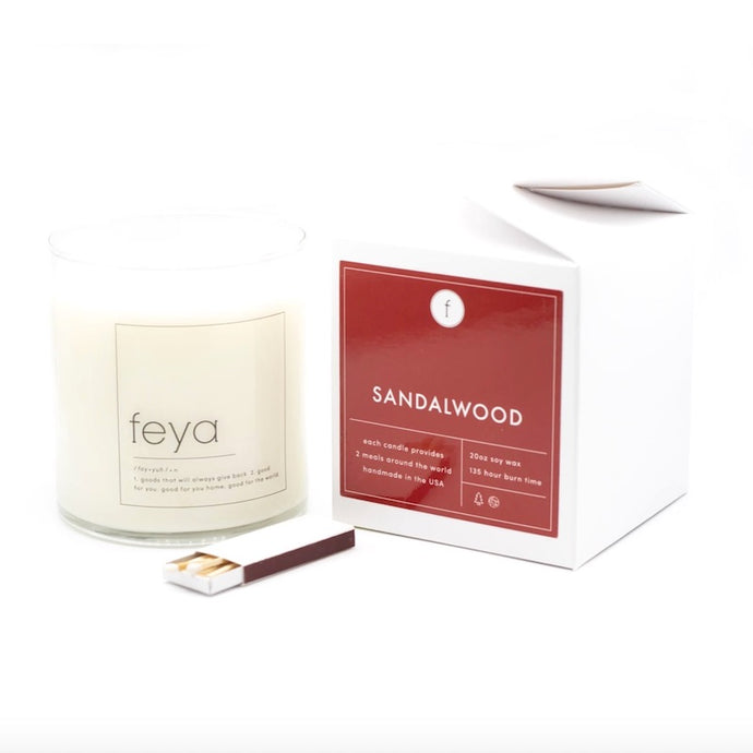 20 oz Sandalwood Candle