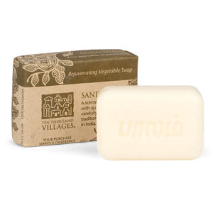Sandalwood Veggie Oil Soap - India