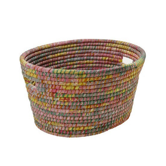 Oval Sari Laundry Basket - Bangledesh