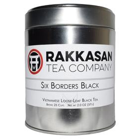 Six Borders Black Looseleaf Tea - Vietnam