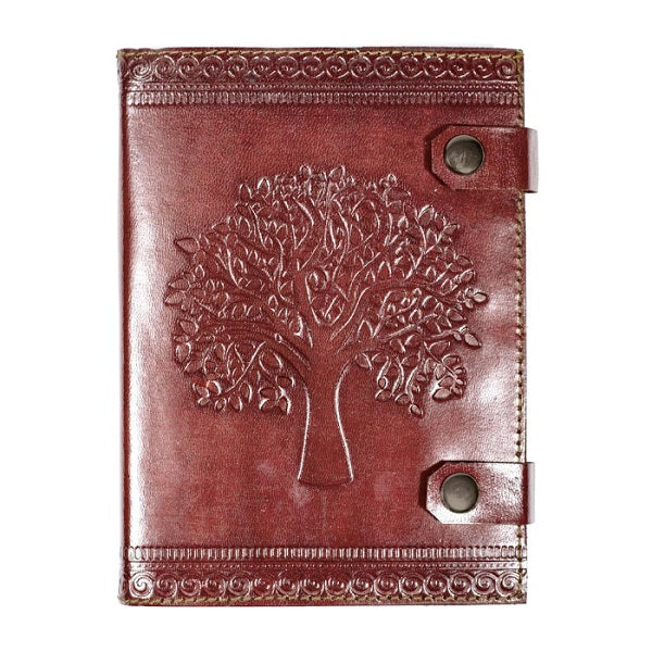 Tree of Life Leather Journal - India